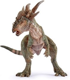 Papo Stygimoloch New 2020 Stimulate and inspire imagination of children Hand painted, highly detailed and durable Designed in France Extreme care taken with product quality and safety Dinosaur Toys For Kids, Dinosaur Pictures, Spinosaurus, Prehistoric Animals, Kids Hands, Fossils, Moose Art, Lion Sculpture, Hand Painted