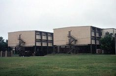 Basic Training Barracks at Lackland Air Force Base, San Antonio, Texas