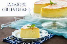 Japanese Cheesecake....This sounds amazing!!