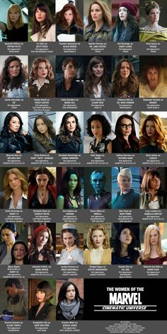I will always pin the MARVELOUS LADIES OF MARVEL