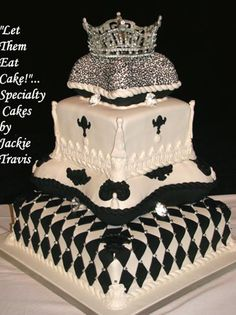 black and gold birthday cake kings crown birthday cake Any
