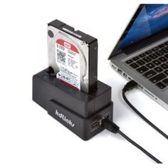 "KDLINKS USB 3.0/2.0 eSATA 2.5""/3.5"" SATA Hard Drive Docking Station"