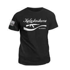 Kalashnikova Classic - T-Shirt / Black / 4XL