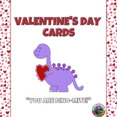 What better way to spread the love on Valentine's Day than with cards!There are 17 different cards with cute, short sayings. The clip-art is in black and white, so that each child can color it how they please for the person who will receive the card. When printed double-sided, your child is able to ...