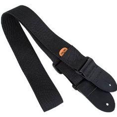 Protec Guitar Strap, Black