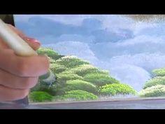 Como Pintar Arboles o Arbustos en un Cuadro- Hogar Tv  por Juan Gonzalo ...