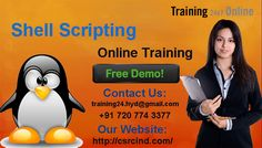 SHELL SCRIPTING Online Training -  The most commonly used shells are SH(Bourne SHell) CSH(C SHell) and KSH(Korn SHell), most of the other shells you encounter will be variants of these shells. This course teaches you how to write shell scripts on UNIX systems. For the Demo Classes: Call us +91 7207743377 Land Line: 040-42626527 MAIL: training24.hyd@gmail.com Visit :http://www.training24x7online.com/courses/other-courses/shell-scripting-online-training.html
