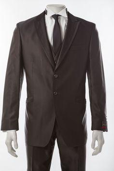 Hochzeitsanzug mit Weste      Festlicher Hochzeitsanzug von Wilvorst mit Weste     Klassisches 2-Knopf-Sakko in Slim-Form mit Pattentaschen     Hochwertige Materialmischung aus Viskose, Wolle und Seide     Farbe: schwarz mit ganz dezentem kupfer-Schimmer