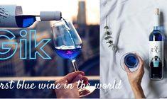 Secretul lui Bachus varianta… albastra – ei bine exista vinul albastru! ☹