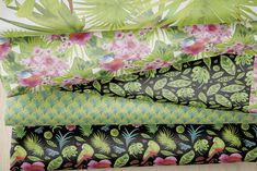 Spoonflower: Shop, design custom fabric, wallpaper & home decor Surface Design, Custom Fabric, Spoonflower, Followers, Tropical, Gift Wrapping, King, Quilts, Blanket