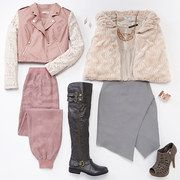 @Mariah Barnes This is perfect for you! Take a look at the Style Guide: Winter Pastels event on #zulily today!