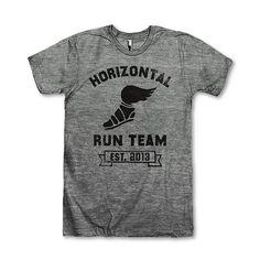 Horizontal Running Team, Established 2013 #pitchperfect