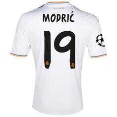 14751ce54d88f Modric de Camiseta Del Real Madrid Primera Equipacion 2013 2014 El Mejor  Equipo
