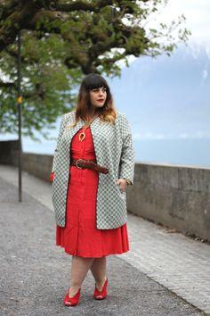 * La robe rouge * « Le blog mode de Stéphanie Zwicky