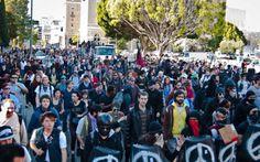Occupy Oakland move in day  1.28.12