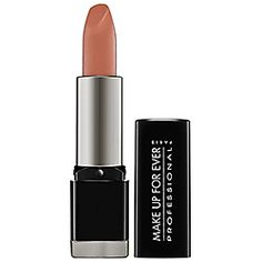 I love using the Make Up For Ever Rouge Artist Intense lip colors on photo shoots and on people for events. The color is rich and it stays in place.
