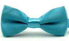 Boys Solid Blue Pre-Tied Bow Ties, 1 to 10 years Childrens Ties, School Events, Boys Bow Ties, Fashion Brands, Bows, 10 Years, Gentleman, Presents, Smooth