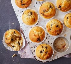 Good Food reader Charlotte Hilsdon shares her simple, chocolate chip muffin recipe, which you can add fruit, chocolate or nuts to