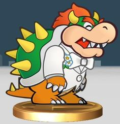 Super Mario Bowser and Peach's wedding - Google Search