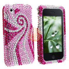 MYBAT Rhinestone Bling Diamond Crystal Case for iPhone 3G 3Gs