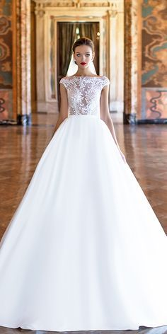 Milla Nova Wedding Dresses 2017 ❤ See more: http://www.weddingforward.com/milla-nova-wedding-dresses-2017/ #weddings