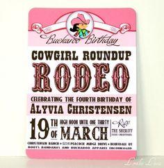 Rhinestone Cowgirl 4th Birthday Party