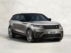 Here it is! The 2018 Range Rover Velar. It's a mid-size SUV that slots in between the...