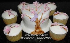 I love Cherry Blossom trees in the spring! Cherry Blossom Tree, Blossom Trees, Cute Cakes, Chocolate Cake, Wedding Cakes, Desserts, Facebook, Spring, Food