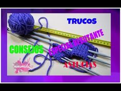 YouTube Cable Needle, Crochet Necklace, Diy, Stitches, Youtube, Sew, Tejidos, Fabric Samples, Knitting