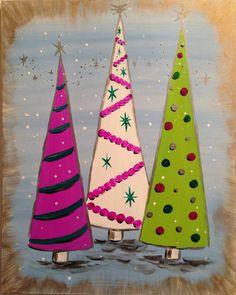 Pinot's Palette Pleasant Ridge - 11/22 7:00 pm Vintage Christmas
