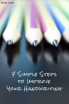 7 Simple Steps to Improve Your Handwriting Improve Your Handwriting, Beautiful Handwriting, Cursive Handwriting, Handwriting Practice, Penmanship, Start Writing, Writing Tips, Hand Writing, Hobbies For Adults
