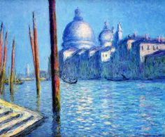 1908 Claude Monet The Grand Canal(private collection)(81 x 92 cm)