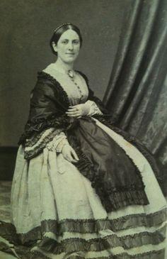 1860s lady. American