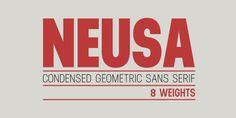 Neusa™ - Webfont & Desktop font « MyFonts