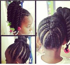 Kid natural hairstyles