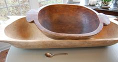 love dough bowls! I have my husband's grandmother's displayed in my kitchen.