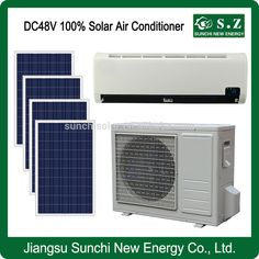 Energy saving and low price DC solar air conditioner with solar panel#solar air conditioner price#airness
