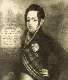 Dom Pedro de Alcântara, Príncipe Real do Reino unido de Portugal, Brasil e Algarves.