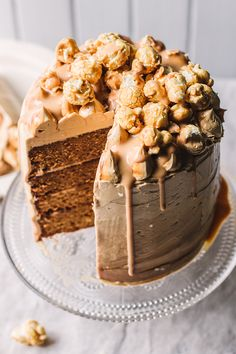 Salted Caramel Cake - The Kate Tin Baking and Desserts Blog