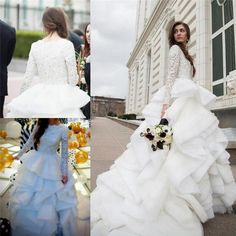 Luxury Princess Muslim Arabic Dubai Kaftan Wedding Dresses 2016 Long Sleeves Vintage Lace Sequins Beads Tiered Wedding Gowns Bridal Dresses Crystal Wedding Dresses A Line Wedding Dresses 2015 Wedding Dresses Online with $395.84/Piece on In_marry's Store | DHgate.com