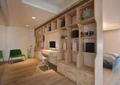 Phase6 Design a Clean and Luminous Apartment in Zhubei City, Taiwan | HomeDSGN