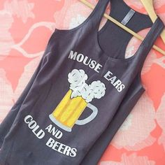 Mouse Ears and Cold Beers - Women's Tank