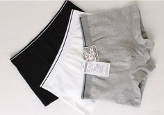 Good quality 100% cotton panties,boxer for boy, four angle panties ,underwear,gift box set,3 pieces a set