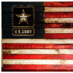 Just added a new flag to the shop. It is a rustic United States Army flag, which has been done in the theme of the American flags red white and blue. My way of saying thank you to the men and women of the US Army for protecting our freedom! Us Army Flag, Army Men, Military Mom, Military Retirement, Military Gifts, Army Quotes, Military Quotes, Army Decor, Army Infantry