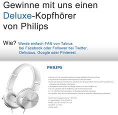Gewinne mit uns einen Deluxe-Kopfhörer von Philips. Einsendeschluss 31.01.2016. Details auf tabius.de #gewinnspiel