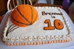Cakes by Lori Crocker - Basketball Cake