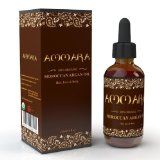 100% PURE ORGANIC Moroccan Argan Oil - For Face, Hair, Skin  Nails - USDA  ECOcert Certified, Large 4 OUNCE Bottle! Cold Pressed - Used for Centuries to Moisturize  Help Counteract the Signs of Aging - Satisfaction Guaranteed or Your Mo