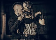 Tony Lavogez and Janne Ebbesdatter Lavogez. Victorian fashion and steampunk Victorian Fashion, Steampunk, Fictional Characters, Steam Punk, Fantasy Characters