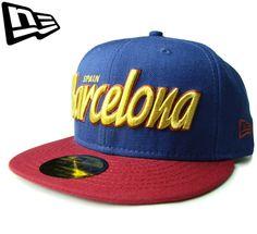 【ニューエラ】【NEW ERA】59FIFTY ヨーロッパシティーコラボ! バルセロナ FCバルセロナカラー ライトネイビー【CAP】【newera】【サッカー】【帽子】【リーガ・エスパニョーラ】【navy】【ゴールド】【GOLD】【キャップ】【サッカー】【あす楽】【楽天市場】