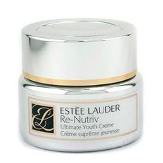 Re-Nutriv Ultimate Youth Creme by Estee Lauder - 8535780601 by Estee Lauder. $332.35. Size - 50ml/1.7oz. Helps prolong skin's youth appearance Offers skin's strength & health Improves even toned & clarity of the skin Removes fine dry lines with refreshing moisture Visibly appears skin vibrant, hydrated & health look Leaves skin smooth, flawless & younger
